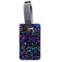 Glitter 1 Luggage Tags (two Sides) by MedusArt