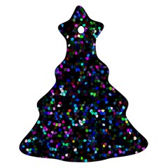 Glitter 1 Christmas Tree Ornament (2 Sides)