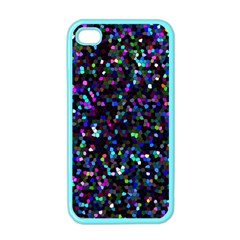 Glitter 1 Apple Iphone 4 Case (color) by MedusArt