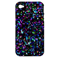 Glitter 1 Apple Iphone 4/4s Hardshell Case (pc+silicone)