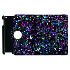 Glitter 1 Apple Ipad 2 Flip 360 Case by MedusArt