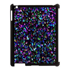 Glitter 1 Apple Ipad 3/4 Case (black) by MedusArt