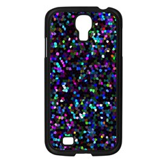 Glitter 1 Samsung Galaxy S4 I9500/ I9505 Case (black) by MedusArt