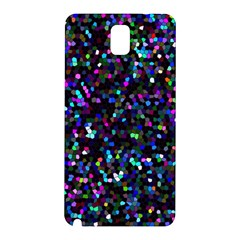 Glitter 1 Samsung Galaxy Note 3 N9005 Hardshell Back Case by MedusArt