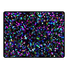 Glitter 1 Double Sided Fleece Blanket (small)  by MedusArt
