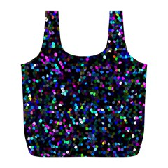 Glitter 1 Full Print Recycle Bags (l)  by MedusArt