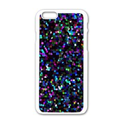 Glitter 1 Apple Iphone 6/6s White Enamel Case