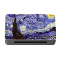 Van Gogh Starry Night Memory Card Reader With Cf