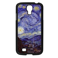 Van Gogh Starry Night Samsung Galaxy S4 I9500/ I9505 Case (black) by fineartgallery