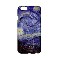 Van Gogh Starry Night Apple Iphone 6/6s Hardshell Case by MasterpiecesOfArt
