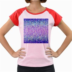 Glitter 2 Women s Cap Sleeve T Shirt by MedusArt