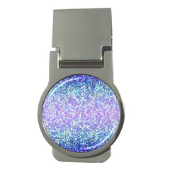 Glitter 2 Money Clips (round)  by MedusArt