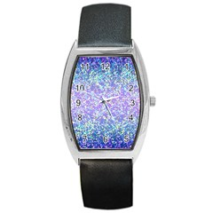 Glitter 2 Barrel Metal Watches by MedusArt