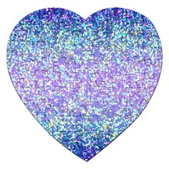 Glitter 2 Jigsaw Puzzle (heart) by MedusArt