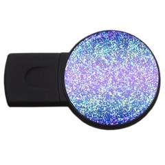 Glitter 2 Usb Flash Drive Round (4 Gb)