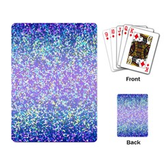 Glitter 2 Playing Card by MedusArt