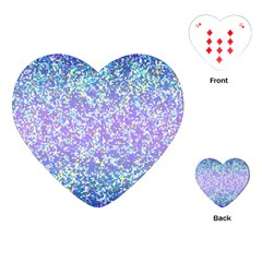 Glitter 2 Playing Cards (heart)