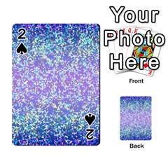 Glitter 2 Playing Cards 54 Designs  by MedusArt