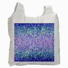 Glitter 2 Recycle Bag (one Side) by MedusArt