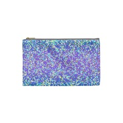 Glitter 2 Cosmetic Bag (small)  by MedusArt