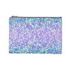 Glitter 2 Cosmetic Bag (large)  by MedusArt