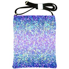 Glitter 2 Shoulder Sling Bags by MedusArt
