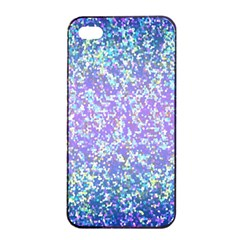 Glitter 2 Apple Iphone 4/4s Seamless Case (black) by MedusArt