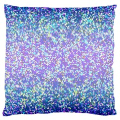Glitter 2 Large Cushion Cases (two Sides)  by MedusArt