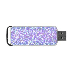 Glitter 2 Portable Usb Flash (one Side) by MedusArt