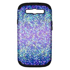 Glitter 2 Samsung Galaxy S Iii Hardshell Case (pc+silicone) by MedusArt