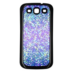 Glitter 2 Samsung Galaxy S3 Back Case (black)
