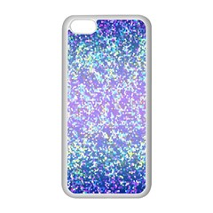 Glitter 2 Apple Iphone 5c Seamless Case (white) by MedusArt