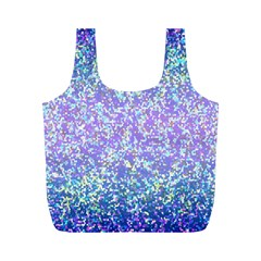 Glitter 2 Full Print Recycle Bags (m)  by MedusArt