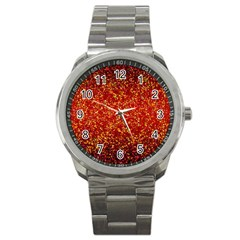 Glitter 3 Sport Metal Watches by MedusArt