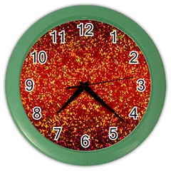 Glitter 3 Color Wall Clocks by MedusArt