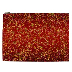 Glitter 3 Cosmetic Bag (xxl)  by MedusArt