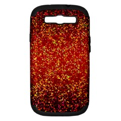 Glitter 3 Samsung Galaxy S Iii Hardshell Case (pc+silicone) by MedusArt