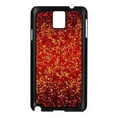 Glitter 3 Samsung Galaxy Note 3 N9005 Case (black) by MedusArt