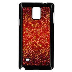 Glitter 3 Samsung Galaxy Note 4 Case (black) by MedusArt