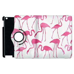 Pink Flamingos Pattern Apple Ipad 2 Flip 360 Case by Patterns