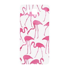 Pink Flamingos Pattern Samsung Galaxy Alpha Hardshell Back Case by Patterns
