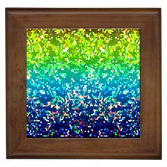 Glitter 4 Framed Tiles by MedusArt