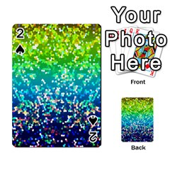 Glitter 4 Playing Cards 54 Designs  by MedusArt