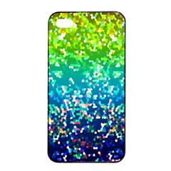 Glitter 4 Apple Iphone 4/4s Seamless Case (black) by MedusArt