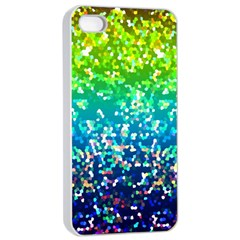 Glitter 4 Apple Iphone 4/4s Seamless Case (white) by MedusArt