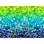 Glitter 4 LOVE 3D Greeting Card (7x5)  Front