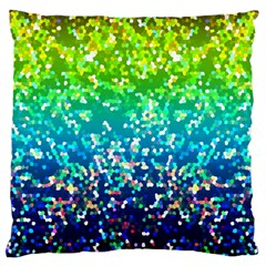 Glitter 4 Large Cushion Cases (one Side)  by MedusArt