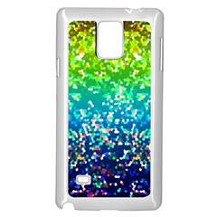 Glitter 4 Samsung Galaxy Note 4 Case (white) by MedusArt