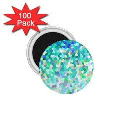 Mosaic Sparkley 1 1 75  Magnets (100 Pack)  by MedusArt