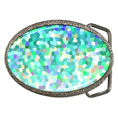 Mosaic Sparkley 1 Belt Buckles by MedusArt